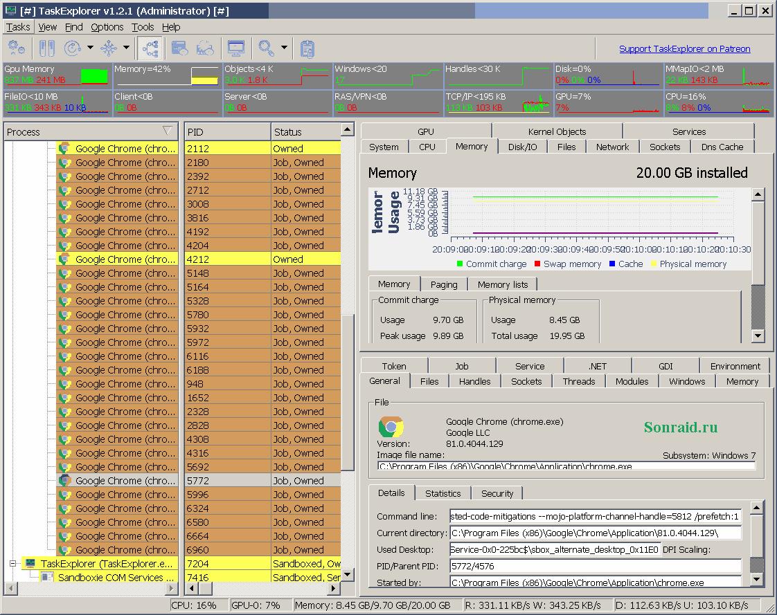TaskExplorer v 1.2.1