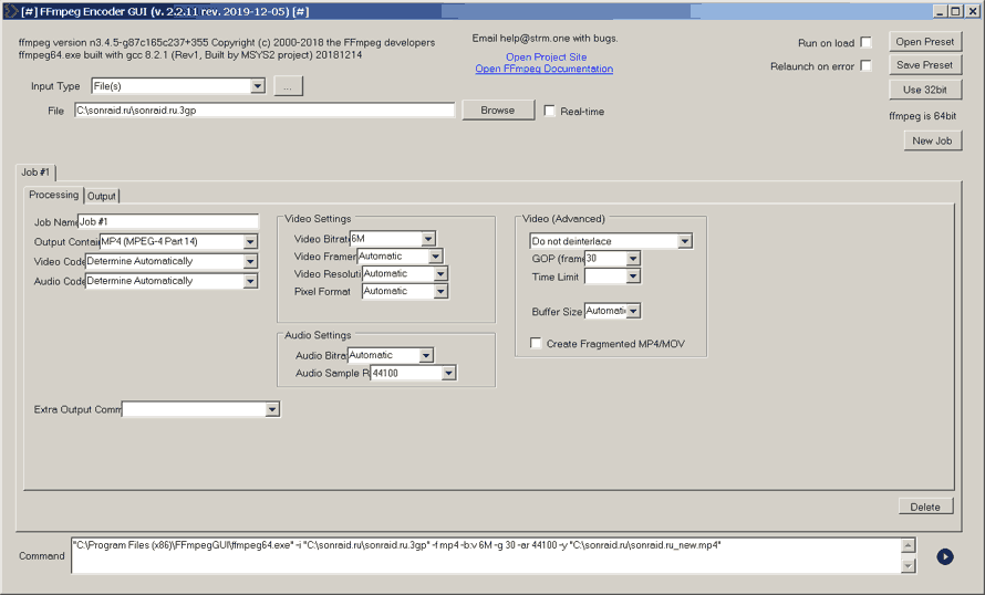 FFmpegGUI 2.2.11