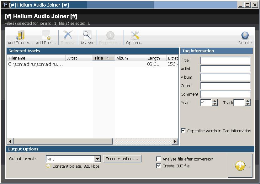 Helium Audio Joiner 1.9.0 Build 331