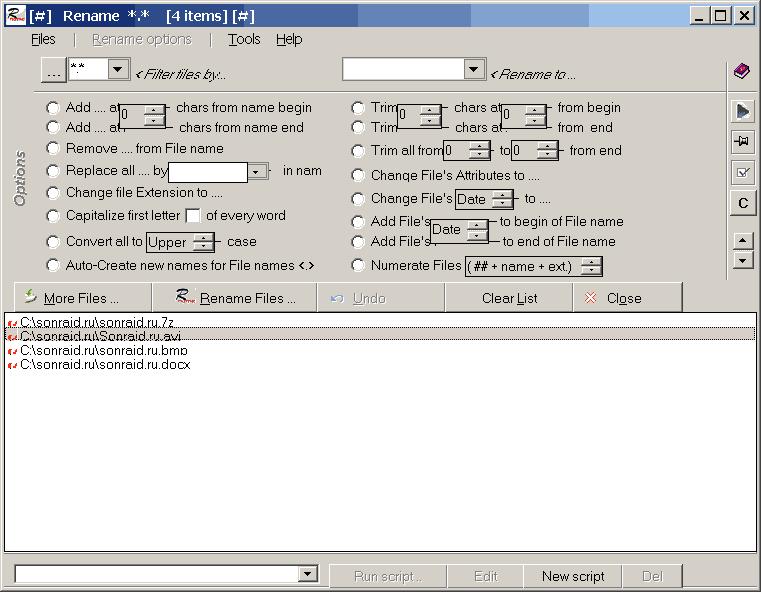 File Renamer 1.2.4.3
