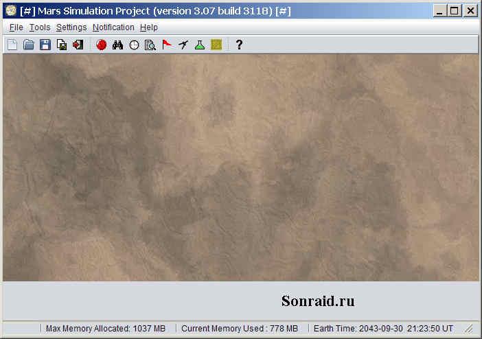 Mars Simulation Project 3.07