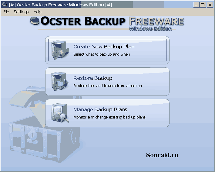 Ocster Backup Freeware 1.99