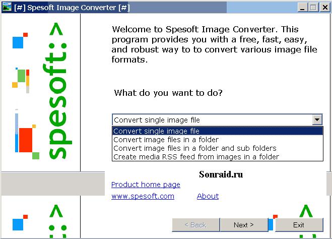 Spesoft Image Converter 2.75