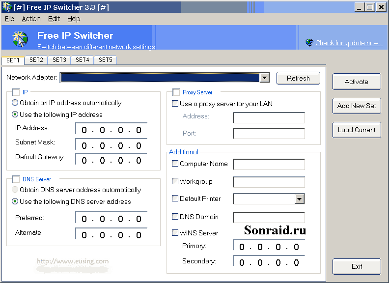 Free IP Switcher 3.3