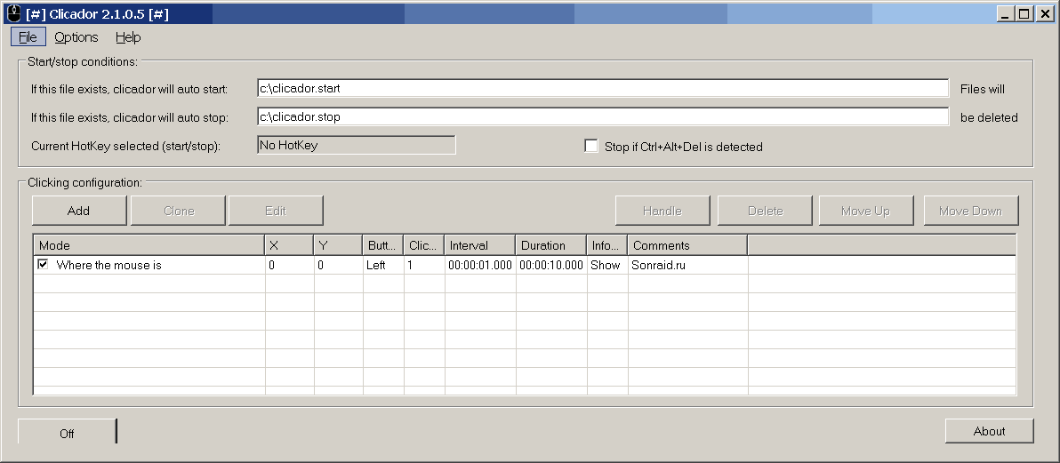 Clicador 2.1.0.5