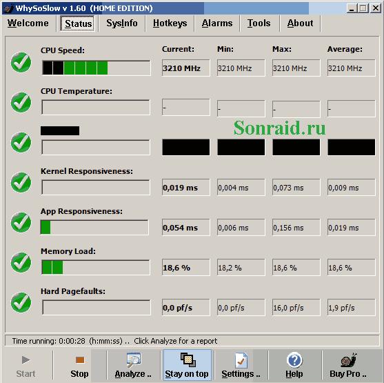 WhySoSlow 1.60 Build 16030824