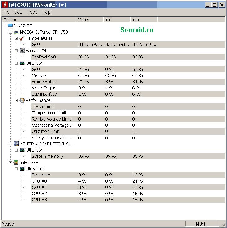 HWMonitor 1.43.0