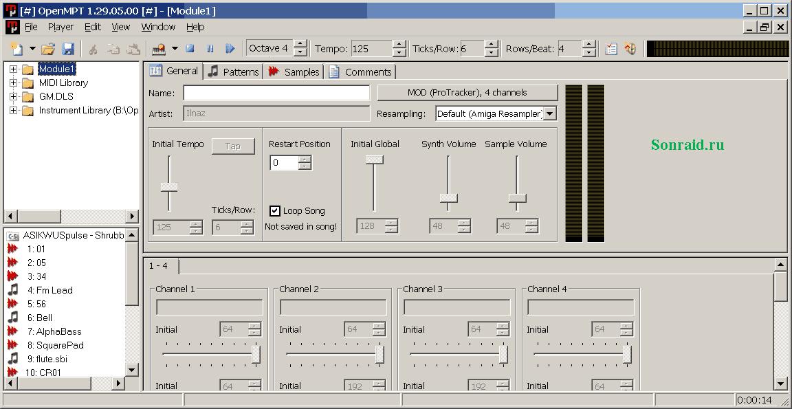 OpenMPT 1.29.05.00