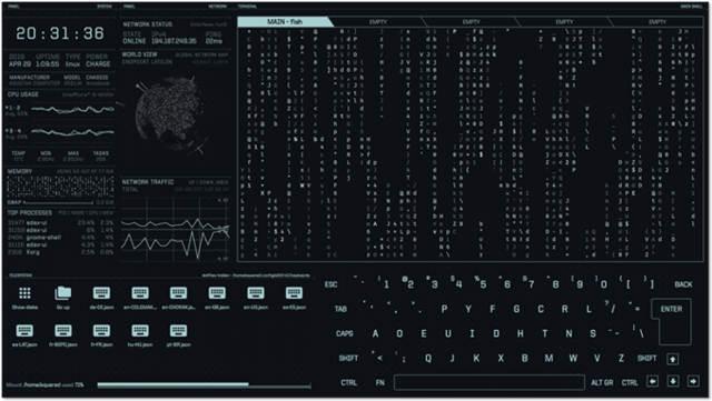 eDEX-UI 2.2.2