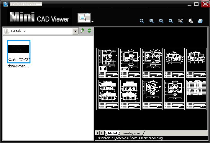 Mini CAD Viewer 3.2.3.0