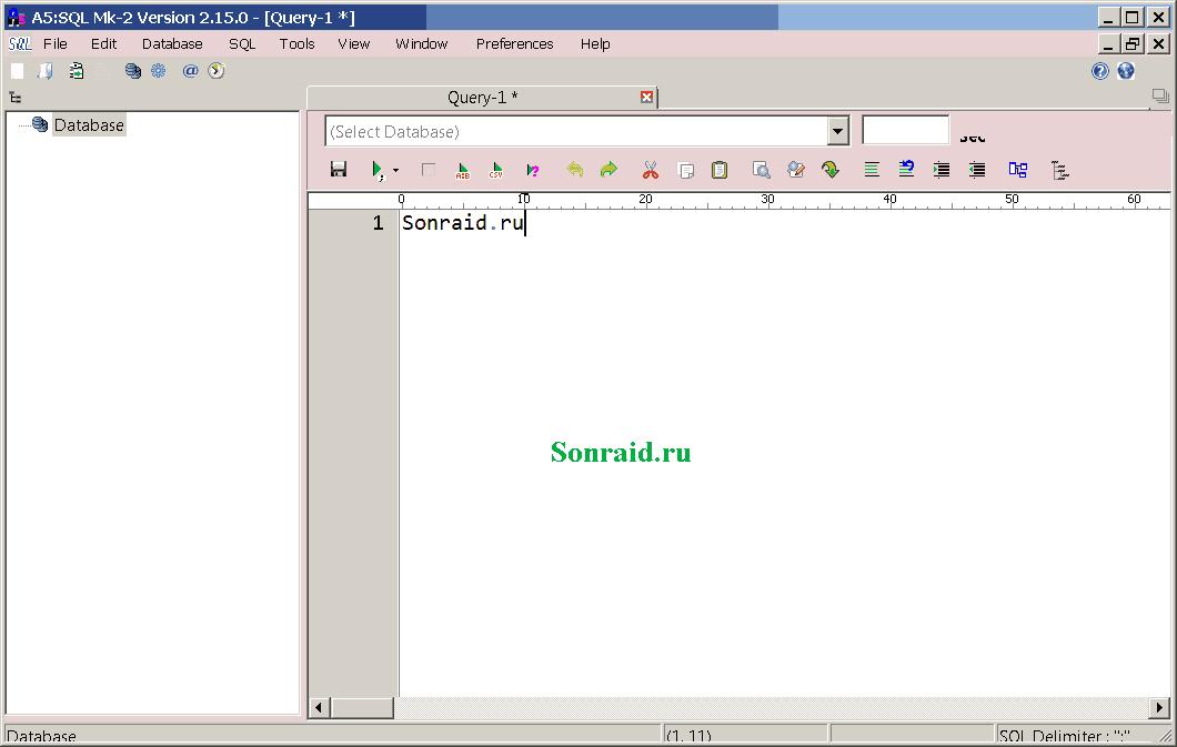 A5: SQL Mk-2 2.15.3