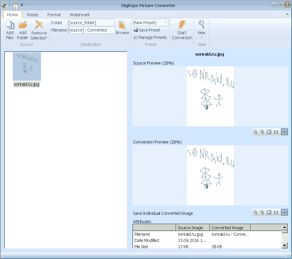 Digitope Picture Converter 2.2.0