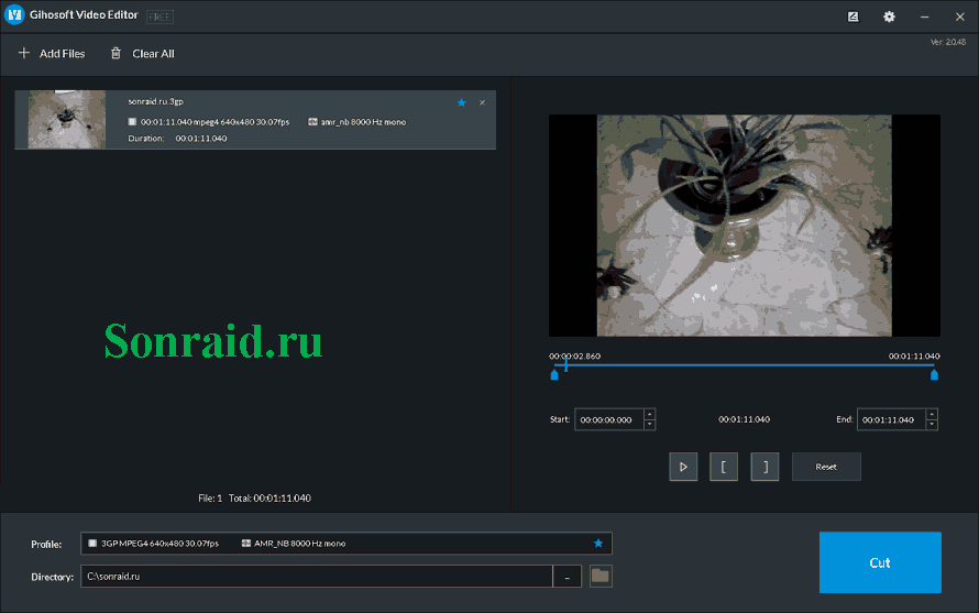 Gihosoft Video Editor 2.0.48