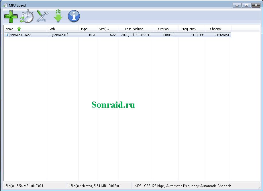 MP3 Speed 5.5.3