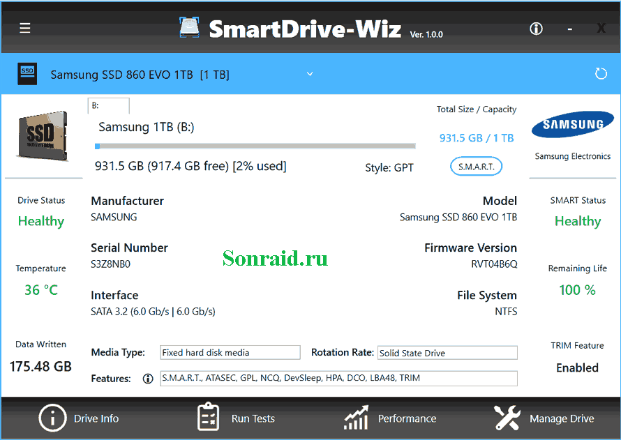 SmartDrive-Wiz 1.1.2