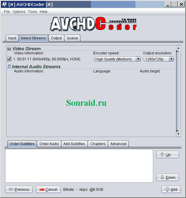 AVCHDCoder 14.08.08