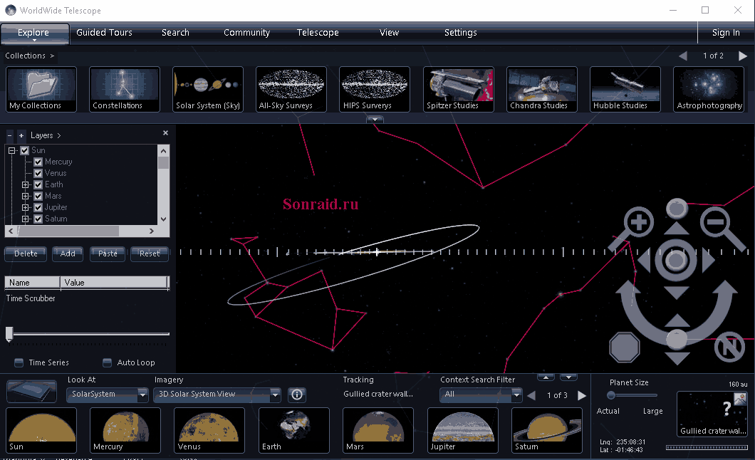 AAS WorldWide Telescope 6.0.11 Beta