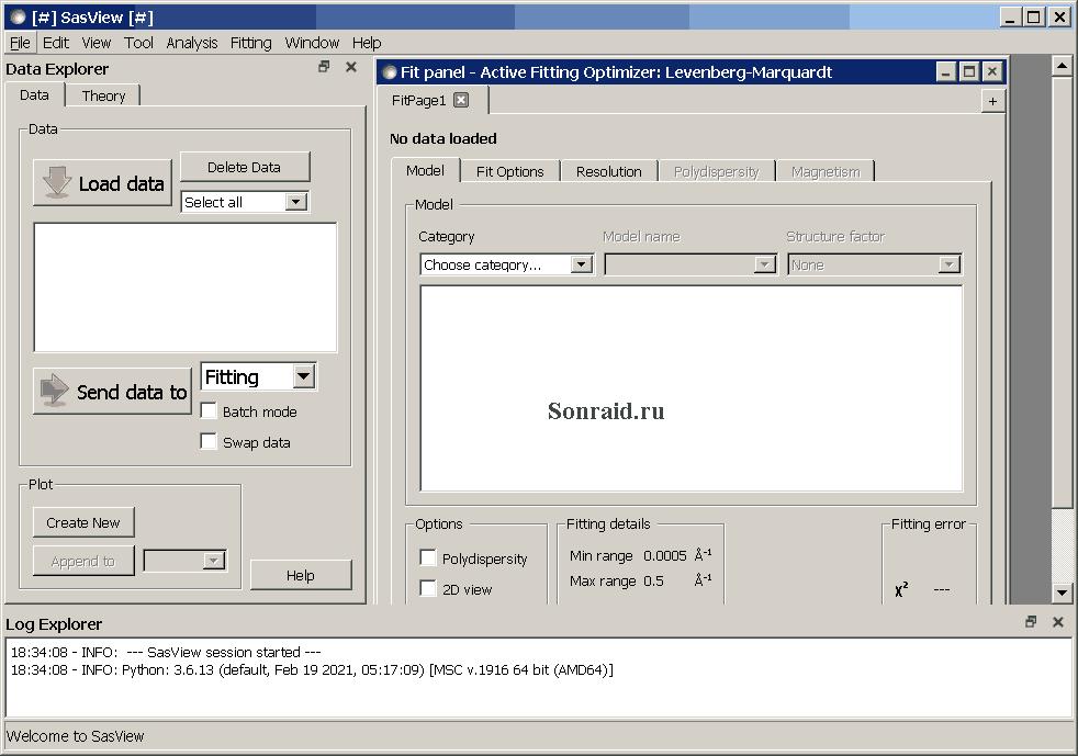 SasView 5.0.4