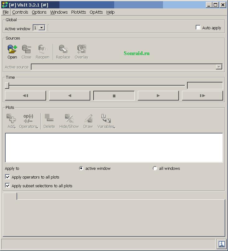 VisIt 3.2.1