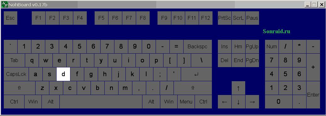 NohBoard 0.17 Beta