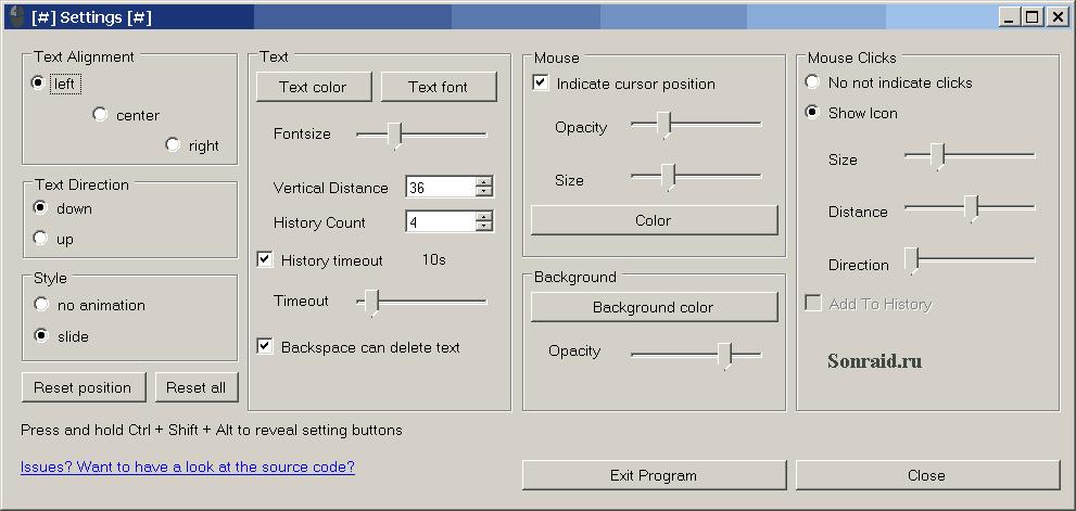 PxKeystrokesForScreencasts 0.3.1b