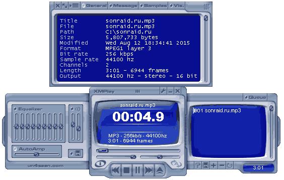 XMPlay 3.8.5.0